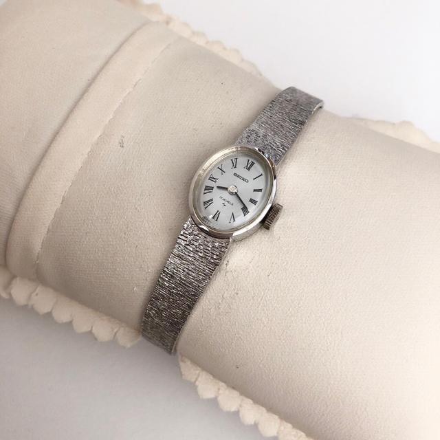 SEIKO - SEIKO 17石 WGP レディース手巻き腕時計 稼動品の通販 by じゅん's shop|セイコーならラクマ