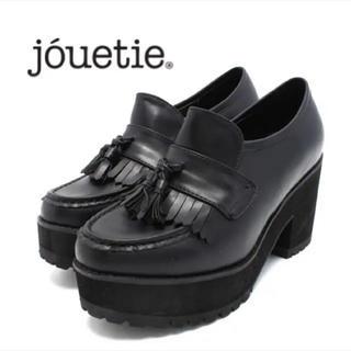 ジュエティ(jouetie)のタッセルフリンジ厚底ローファー(ローファー/革靴)
