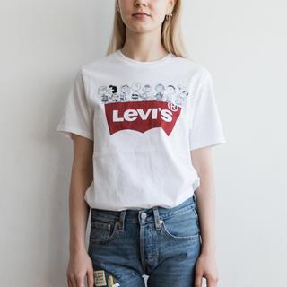 リーバイス(Levi's)の新品 リーバイス◇ スヌーピー バットウィングロゴTシャツ(Tシャツ(半袖/袖なし))