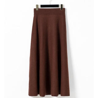 GRACE CONTINENTAL - 新品♡定価22,680円 圧縮ウール100パーセント スカート ブラウン
