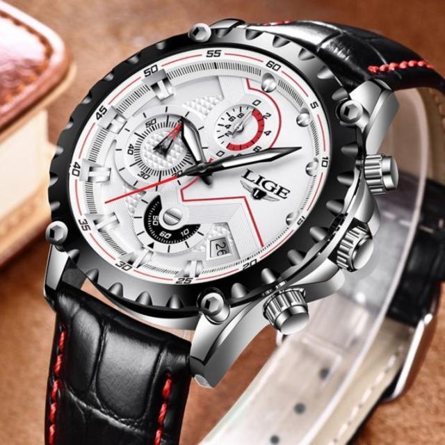 【新品】 高性能クロノグラフ レーシングデザイン 腕時計 020の通販 by まちのとけいやさん shop|ラクマ