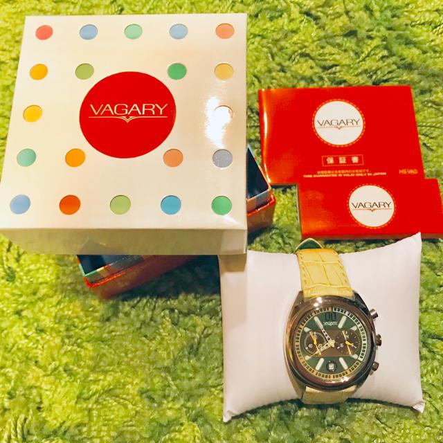 VAGARY - バガリー 腕時計VAGARY 時計 腕時計 IV5-019-40 SSの通販 by taketake's shop|ヴァガリーならラクマ