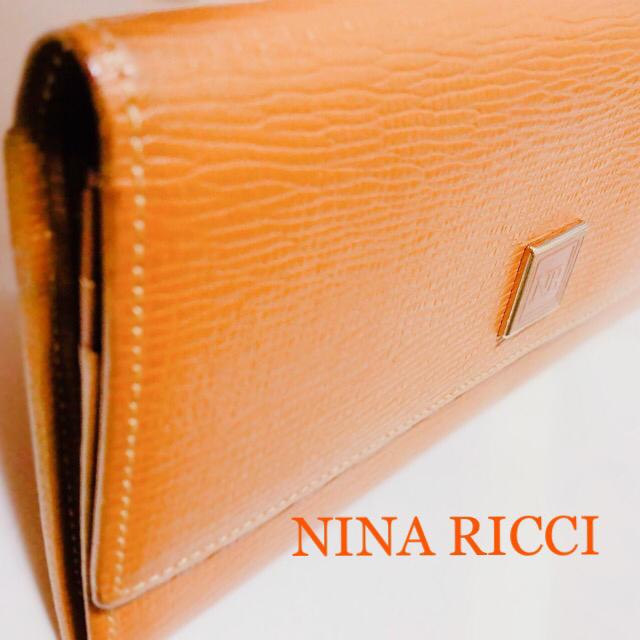 NINA RICCI - 【NINA RICCI】ユーズド品 ニナリッチ 長財布 レディース 美品の通販 by らくまる's shop|ニナリッチならラクマ