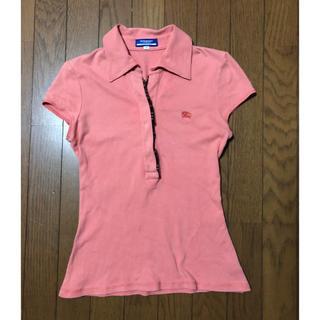 バーバリーブルーレーベル(BURBERRY BLUE LABEL)のポロシャツ(ポロシャツ)