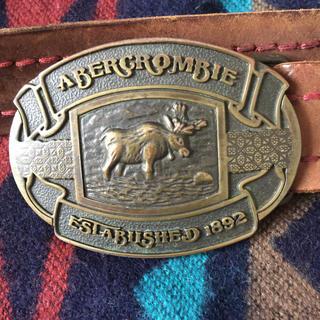 アバクロンビーアンドフィッチ(Abercrombie&Fitch)の値下げ アバクロ ベルト (ベルト)