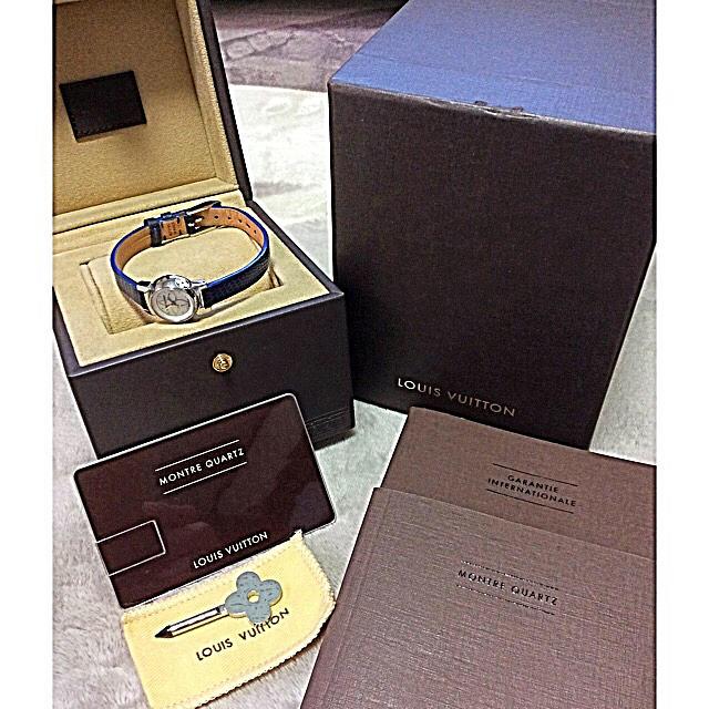 LOUIS VUITTON - 美品‼️ルイヴィトン  タンブール ビジュ Q151C レディース 腕時計の通販 by ゴールドフィンガー's shop|ルイヴィトンならラクマ