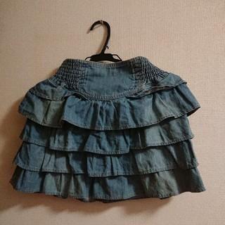 バービー(Barbie)のBarbie デニムスカート(ミニスカート)