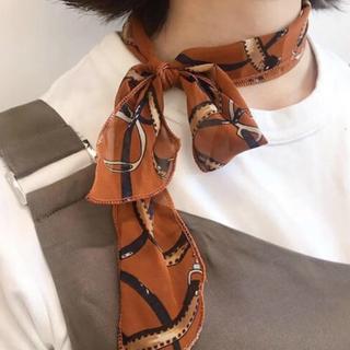 トゥデイフル(TODAYFUL)の大人気!トレンドスカーフ 在庫わずか♡(バンダナ/スカーフ)