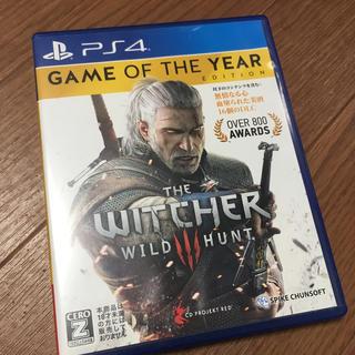 ウィッチャー3 ワイルドハント ゲームオブザイヤーエディション PS4版(家庭用ゲームソフト)