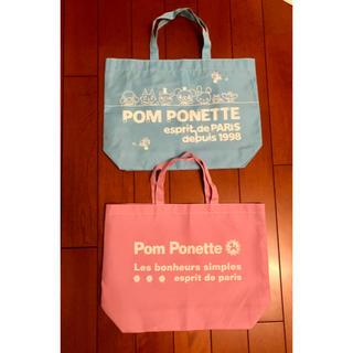 ポンポネット(pom ponette)のPOM PONETTE トートバッグ(トートバッグ)
