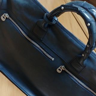 エルゴポック(HERGOPOCH)のウォッカ様専用 エルゴポック ブリーフケース 紺 使用回数極小!(ビジネスバッグ)