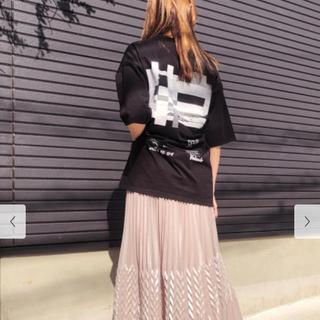 フレイアイディー(FRAY I.D)の新品タグ付き フレイアイディー バックプリント Tシャツ(Tシャツ(半袖/袖なし))
