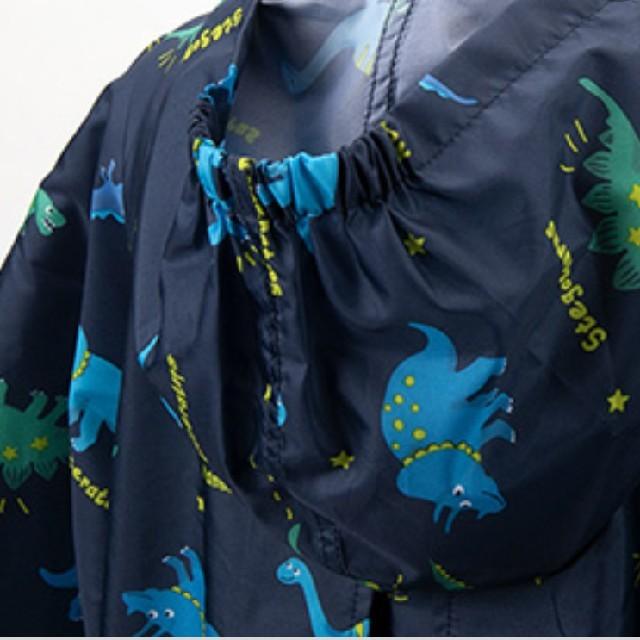 motherways(マザウェイズ)の新品 120cm マザウェイズ レインコート カッパ 恐竜 motherways キッズ/ベビー/マタニティのこども用ファッション小物(レインコート)の商品写真