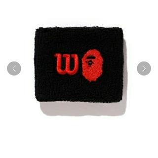 アベイシングエイプ(A BATHING APE)のBAPE × WILSON WRIST BAND  リストバンド(バングル/リストバンド)