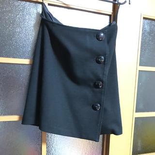 サリア(salire)の即購入OK‼️サリア スカート 秋・冬物 ブラック(ミニスカート)