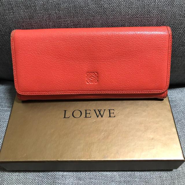 LOEWE - ロエベ 長財布の通販 by 腹キン's shop|ロエベならラクマ