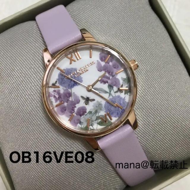 新品 オリビアバートン 腕時計 OLIVIA BURTON OB16VE08の通販 by mana's shop|ラクマ