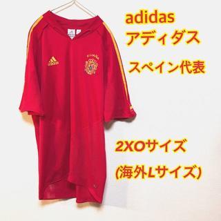 アディダス(adidas)のアディダス スペイン代表 ユニフォーム 赤 ホーム 通気性〇 2XO(ウェア)