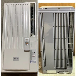 ヤマゼン(山善)のYAMAZEN  WI-A191 ルームエアコン 2015年製 中古 美品(エアコン)