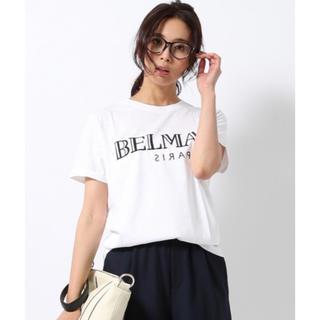 雑誌掲載 Happiness BELMAN Tシャツ 美品 ドゥーズィエムクラス