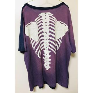 キャピタル(KAPITAL)のkapital 骨 ボーン ティーシャツ M (Tシャツ/カットソー(半袖/袖なし))