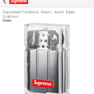 シュプリーム(Supreme)のsupreme tsubota pearl hard edge lighter(タバコグッズ)