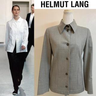 ヘルムートラング(HELMUT LANG)のHELMUT LANG VINTAGE ITALY製 初期 ストレッチジャケット(ミリタリージャケット)