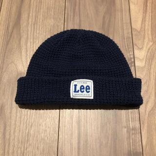 リー(Lee)のLee ニット帽 ニットキャップ キッズ(帽子)