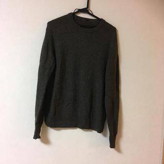 ムジルシリョウヒン(MUJI (無印良品))の無印良品 ニット セーター 茶色 ウール100%(ニット/セーター)