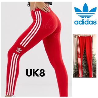 アディダス(adidas)の海外限定 レア赤 UK8 adidasoriginals アディダスオリジナルス(スキニーパンツ)