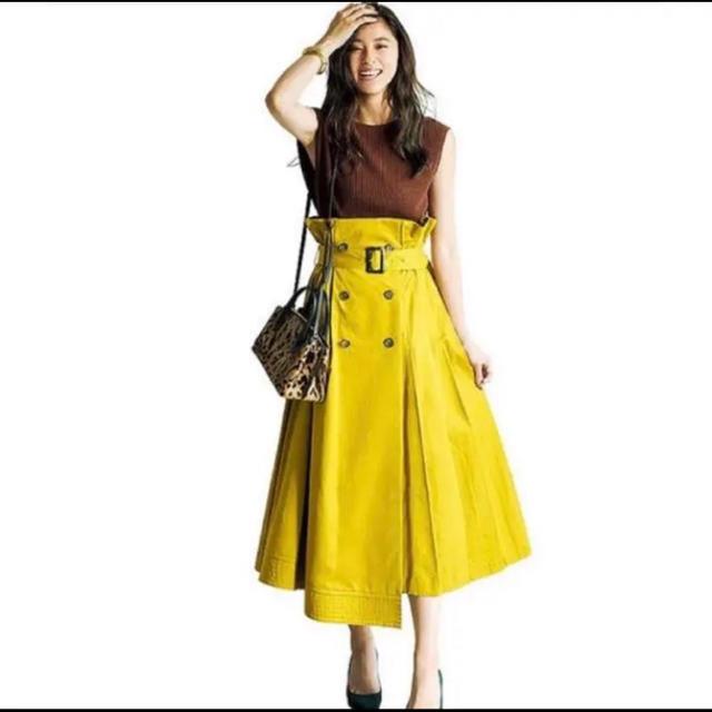 FRAY I.D(フレイアイディー)のFRAY I.D トレンチプリーツスカート レディースのスカート(ロングスカート)の商品写真