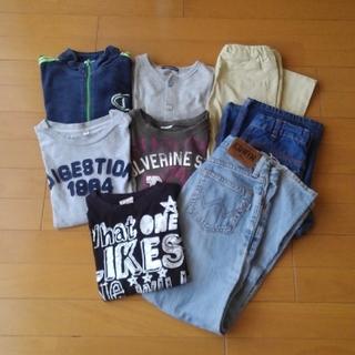 130センチ 男の子秋服セット(Tシャツ/カットソー)