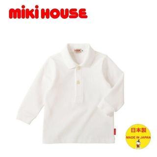 ミキハウス(mikihouse)のミキハウス Every Day mikihouse 長袖ポロシャツ 130(Tシャツ/カットソー)