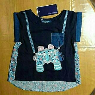 アナスイミニ(ANNA SUI mini)のANNA SUI Mini  新品・未使用 タグ付き 80 半袖 (シャツ/カットソー)