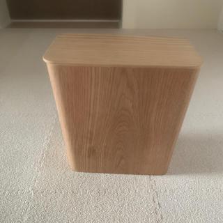 ムジルシリョウヒン(MUJI (無印良品))の無印良品 ゴミ箱 蓋つき(ごみ箱)