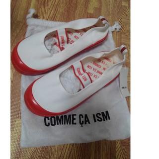 コムサイズム(COMME CA ISM)の新品*COMME CA ISM上履き 21cm(スクールシューズ/上履き)