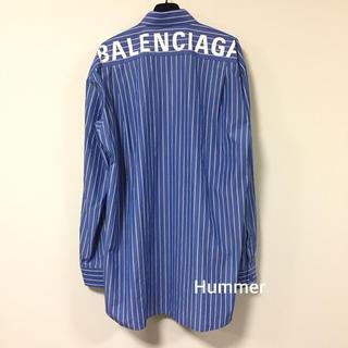 バレンシアガ(Balenciaga)の France Lover様  バレンシアガ バックロゴ シャツ 新品(シャツ)