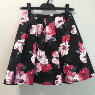 デイシー(deicy)の花柄スカート(ミニスカート)