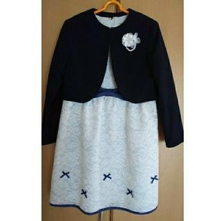 プティマイン(petit main)のプティマイン  ワンピースセット  130センチ(ドレス/フォーマル)