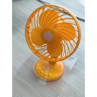 マリークワント(MARY QUANT)の【非売品】マリークワント ミニ扇風機(扇風機)