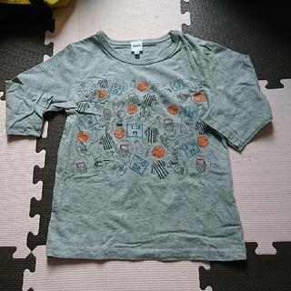 シップス(SHIPS)の120☆SHIPS☆スヌーピー七分丈Tシャツ(Tシャツ/カットソー)