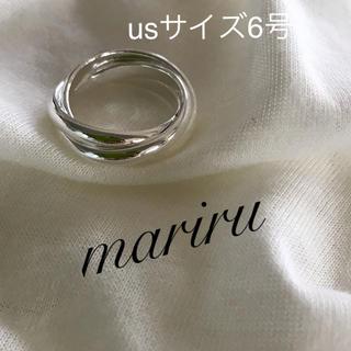 シルバー925 リング3連6号(リング(指輪))