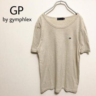ジムフレックス(GYMPHLEX)の☆【GP by gymphlex】左胸 刺繍ロゴ Tシャツ 美品(Tシャツ/カットソー(半袖/袖なし))