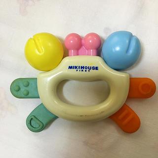 ミキハウス(mikihouse)のミキハウス 赤ちゃん 掴みおもちゃ ベビー 300円(知育玩具)