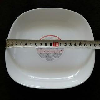 ヤマザキセイパン(山崎製パン)のヤマザキ 白いスクエアディッシュ皿 3枚セット(着払い設定)(食器)