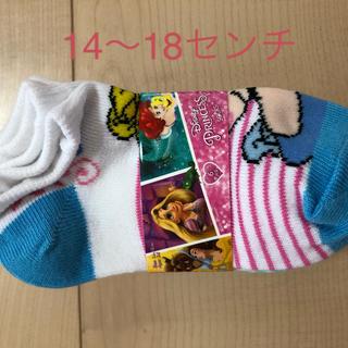 コストコ(コストコ)の新品! ディズニープリンセス 靴下 6足セット サイズ14〜18センチ(靴下/タイツ)