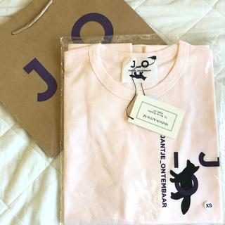 メゾンキツネ(MAISON KITSUNE')のヤンチェ オンテンバール×メゾンキツネ Tシャツ ピンク XS(Tシャツ/カットソー(半袖/袖なし))