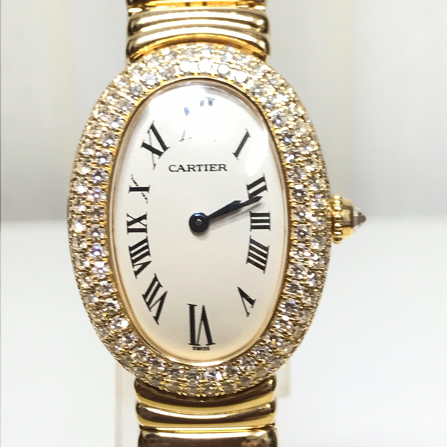Cartier - 【美品】Cartier カルティエ ベニュワール レディース K18YG 腕時計の通販 by jinseicorp2016's shop|カルティエならラクマ