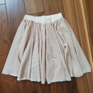 バーニーズニューヨーク(BARNEYS NEW YORK)の美品 ミュラーオブヨシオクボ チュールスカート(ひざ丈スカート)