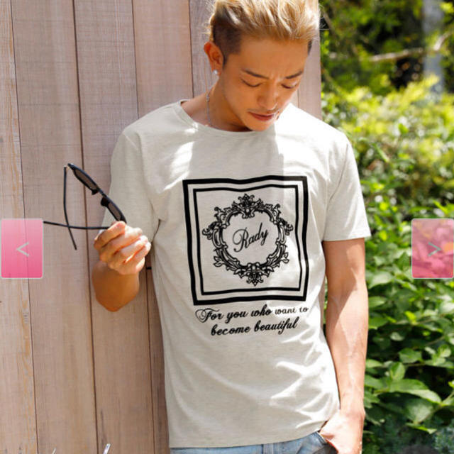 Rady(レディー)のRady メンズ ホテルシリーズTシャツ メンズのトップス(Tシャツ/カットソー(半袖/袖なし))の商品写真